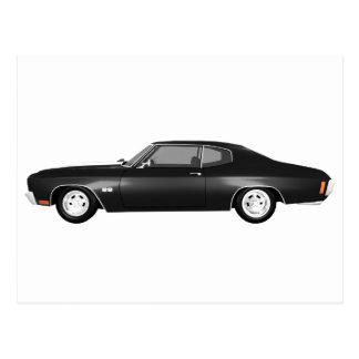 1970年のChevelle SS: 黒い終わり: ポストカード