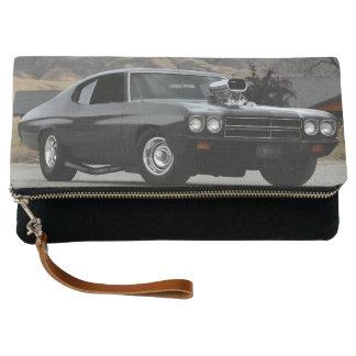 1970年のChevy Chevelleのドラッグ筋肉車 クラッチバッグ