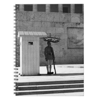 1970年ギリシャアテネの無名戦士の墓 ノートブック