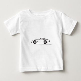 1970-72年のコルベット ベビーTシャツ