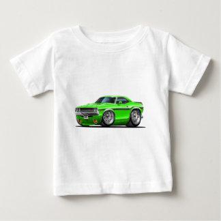 1970-72年の挑戦者の緑車 ベビーTシャツ