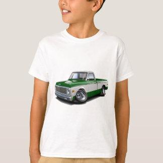 1970-72年のChevy C10の緑白のトラック Tシャツ