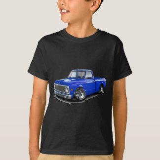 1970-72年のChevy C10の青のトラック Tシャツ