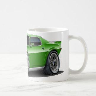 1970-73年Camaro Grnまたは白い車 コーヒーマグカップ