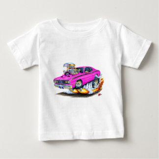 1970-74年のプリマスの塵払いのピンク車 ベビーTシャツ