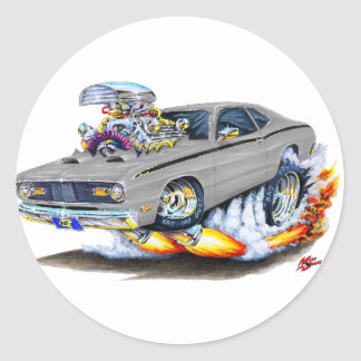 1970-74年のプリマスの塵払いの灰色車 ラウンドシール