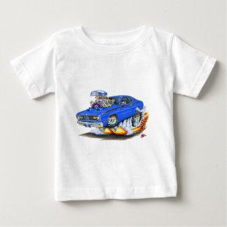 1970-74年のプリマスの塵払いの青車 ベビーTシャツ