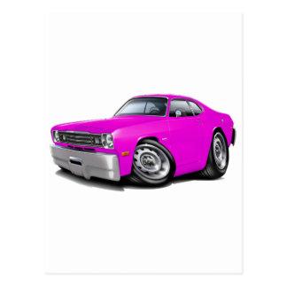 1970-74年の塵払いのピンク車 ポストカード