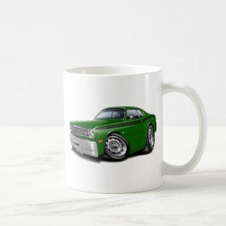 1970-74年の塵払いの緑黒い車 コーヒーマグカップ