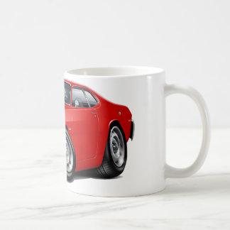1970-74年の塵払いの赤車 コーヒーマグカップ
