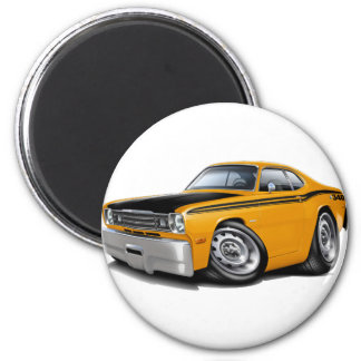 1970-74年の塵払い340のオレンジ車 マグネット