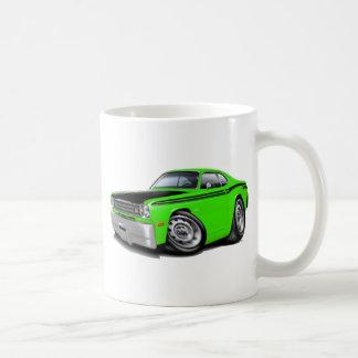 1970-74年の塵払い340のライム車 コーヒーマグカップ