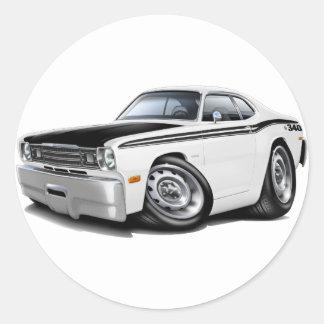 1970-74年の塵払い340の白車 ラウンドシール