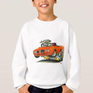 1970 GTOの裁判官のオレンジコンバーチブル スウェットシャツ