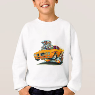 1970 GTOの裁判官のオレンジ車 スウェットシャツ