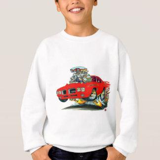 1970 GTOの裁判官の赤車 スウェットシャツ