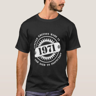 1971年になされる限定版 Tシャツ