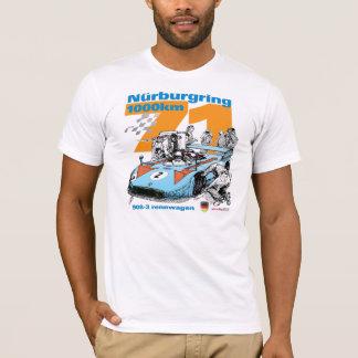 1971年のNurburgring 1000km 908-3 RennwagenのTシャツ Tシャツ