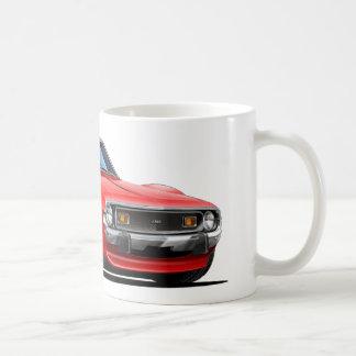 1971-72年の投げ槍の赤車 コーヒーマグカップ