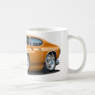 1971-72年のChevelleのオレンジ車 コーヒーマグカップ