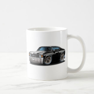 1971-72年のChevelleの白黒車 コーヒーマグカップ