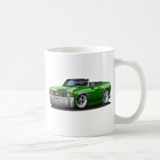 1971-72年のChevelleの緑のコンバーチブル コーヒーマグカップ