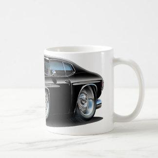 1971-72年のChevelleの黒い車 コーヒーマグカップ