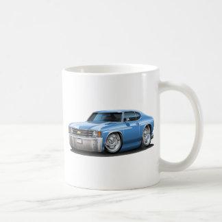 1971-72年のChevelleのLt Blue Car コーヒーマグカップ