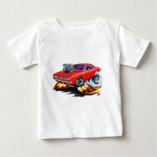 1971-73年のCudaの赤車 ベビーTシャツ