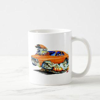 1971-74年の新星のオレンジ車 コーヒーマグカップ