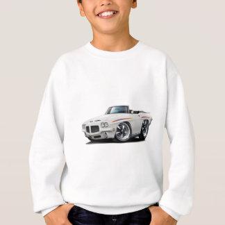 1971 GTOの裁判官の白いコンバーチブル スウェットシャツ