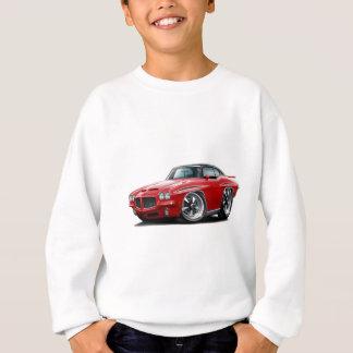 1971 GTOの裁判官の赤黒い上 スウェットシャツ