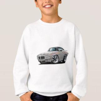 1971 GTOの裁判官の銀黒い上 スウェットシャツ