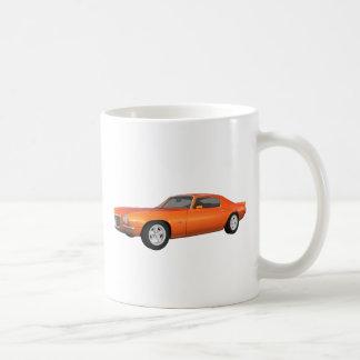 1972年のCamaro: 筋肉車: オレンジ終わり: コーヒーマグカップ