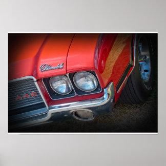 1972年のOldsmobile 442 ポスター