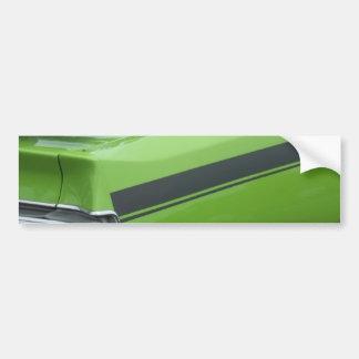1973の緑のごまかしの充電器SEのBroughamの後部四分の一 バンパーステッカー