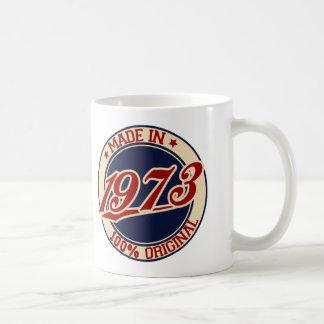 1973年に作られる コーヒーマグカップ