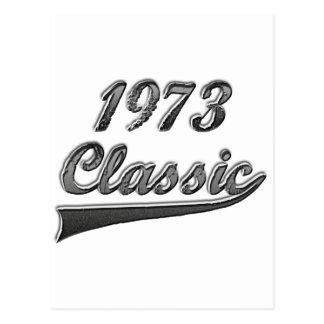 1973年のクラシック ポストカード