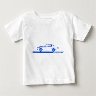 1973-74年のロードランナーの青車 ベビーTシャツ