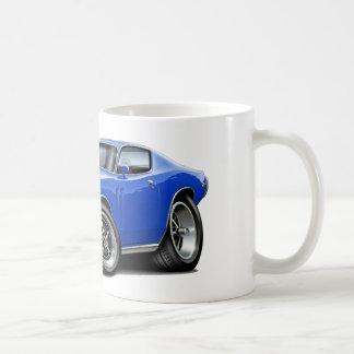 1973-74年の充電器の青車 コーヒーマグカップ