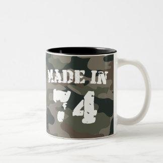 1974年に作られる ツートーンマグカップ