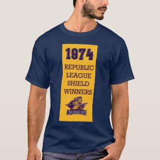 1974愚か者RLの盾 Tシャツ