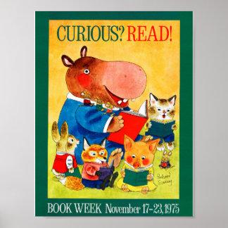 1975人の児童読書週間ポスター ポスター