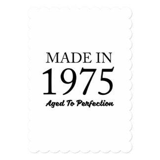 1975年に作られる カード