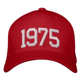 1975年 刺繍入りキャップ
