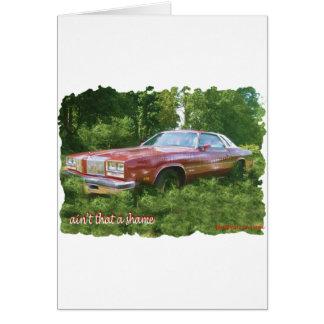 1976年のOldsmobileのカットラスの最高のクーペ カード