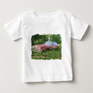 1976年のOldsmobileのカットラスの最高のクーペ ベビーTシャツ