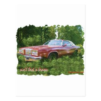 1976年のOldsmobileのカットラスの最高のクーペ ポストカード