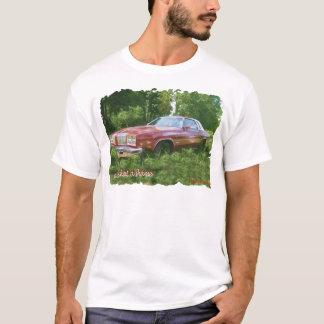 1976年のOldsmobileのカットラスの最高のクーペ Tシャツ