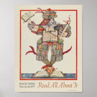 1977人の児童読書週間ポスター ポスター